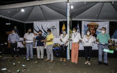 600 PERSONAS BENEFICIADAS CON EL ALCANTARILLADO SANITARIO EN SIMÓN BOLÍVAR 2