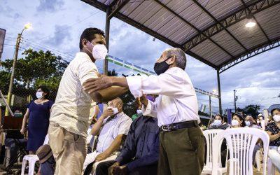 BARRIO AGUARICO MIRADOR, ESTRENA VEREDAS Y BORDILLOS
