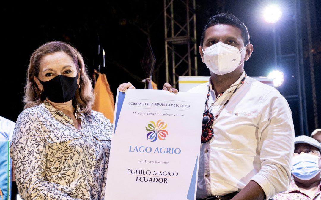 LAGO AGRIO PUEBLO MÁGICO DEL ECUADOR