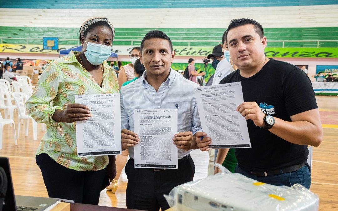 LIGAS DEPORTIVAS, RECIBEN APOYO DE ALCALDÍA