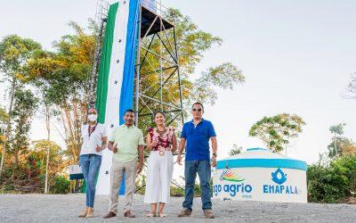 Cumplimos con agua potable para Juan Montalvo